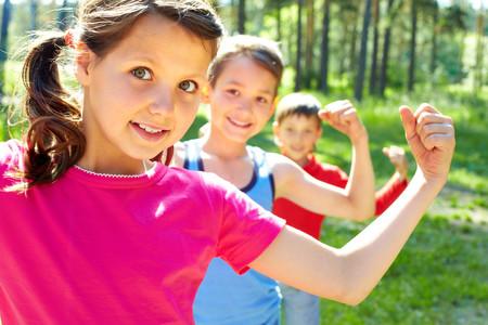 Fuerza en niños