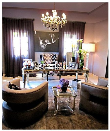 La oficina de Khloe Kardashian
