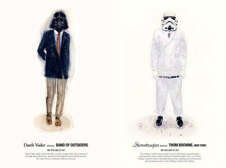Si fueras un personaje de Star Wars... ¿cómo vestirías?