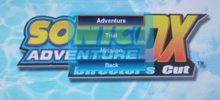 'Sonic Adventure DX: Director's Cut'. Primeras imágenes, no muy halagüeñas, de su port para Xbox 360