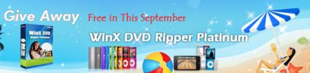 Descarga gratis WinX DVD Ripper Platinum (solo este mes)