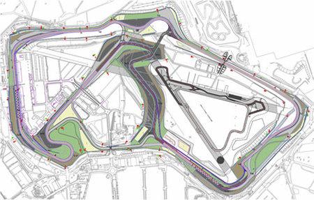 Damon Hill no está convencido con el Silverstone Arena