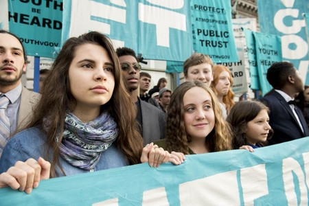 Decenas de niños están demandando a sus gobiernos en todo el mundo por el clima y, por ahora, la Justicia les está dando la razón
