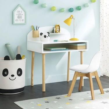 Muebles low cost para hacer un rincón de estudio para los niños