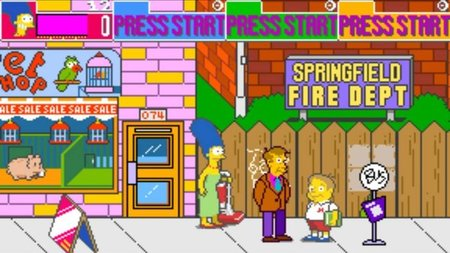 'The Simpsons Arcade Game'. Fecha para Playstation Network