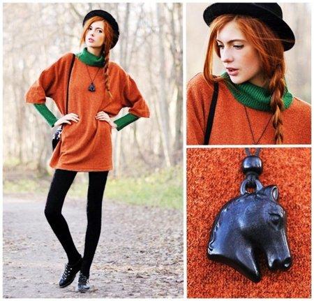 Naranja Moda en la calle