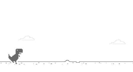 El futuro ha llegado: Chrome recordará tu puntuación máxima en Dino Run, el minijuego del dinosaurio