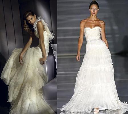 Vestidos de novia: de corte romántico