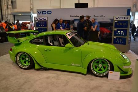 SEMA Show 2018 Porsche 911 verde