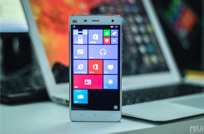 Xiaomi Mi4 Windows® 10 02 Story