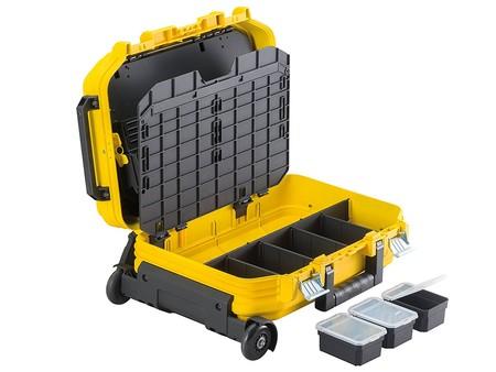 Por 88,90 euros tenemos la maleta para herramientas con ruedas FatMax Stanley FMST1-72383 en Amazon
