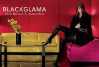 ¡Los abrigos de BlackGlama tienen a su top! Hilary Rhoda se viste de tendencia para Rocco Laspata