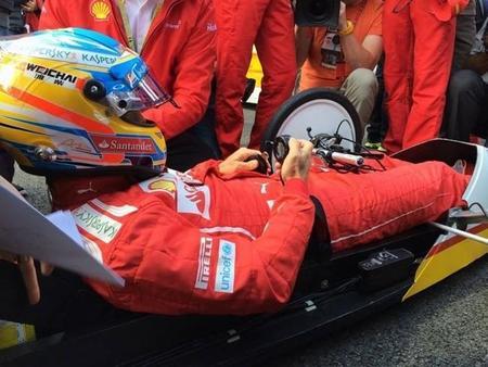 """Fernando Alonso: """"la gente ya protesta porque tenemos que levantar para ahorrar 200 gramos de combustible"""""""