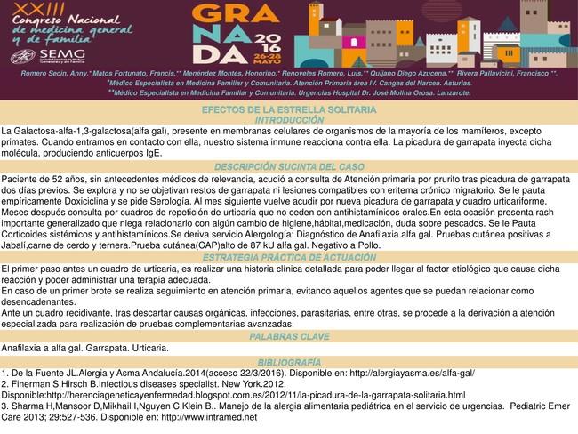Caso Clinico Garrapata