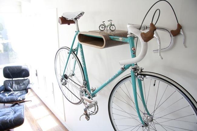 Foto de Dos buenas soluciones para colgar la bicicleta (1/5)