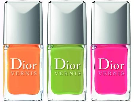 La colección crucero 2013 de lacas de uñas de Dior es apta, sólo, para atrevidas