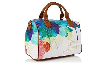 5ea163cba Amazon rebaja a 29,58 euros el bolso de Desigual Bowling Aquarelle. Además  el envío es gratis