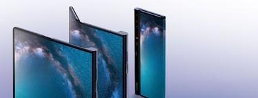 """Apple patenta un iPhone plegable que dejaría una sección de la pantalla para """"asomar"""" información"""