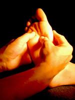 Masaje para los pies