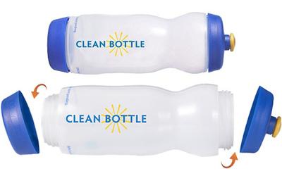 Clean Bottle, la solución definitiva para deportistas