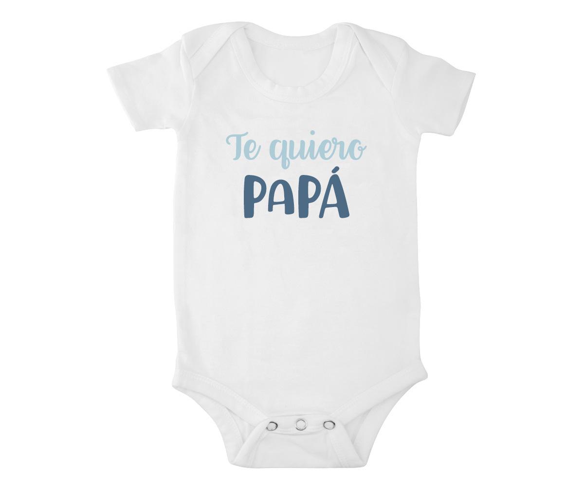 Body de Bebé Te Quiero Papá Azul