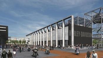 El museo Harley-Davidson