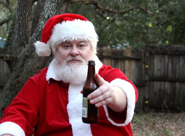 Papa Noel Cerveza