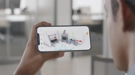 realidad aumentada LiDAR iPhone 12 pro