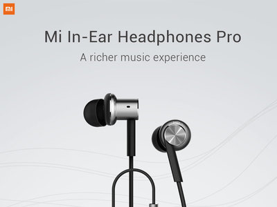 Cupón de descuento: auriculares Xiaomi Mi In-Ear Headphones Pro HD por 13,68 euros