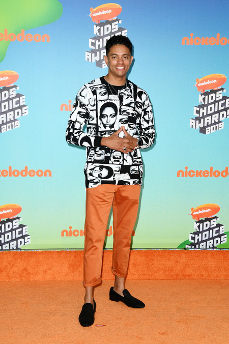 Brandon Broady Nickelodeon S 2019 Kids Choice Awards Arrivals Red Carpet