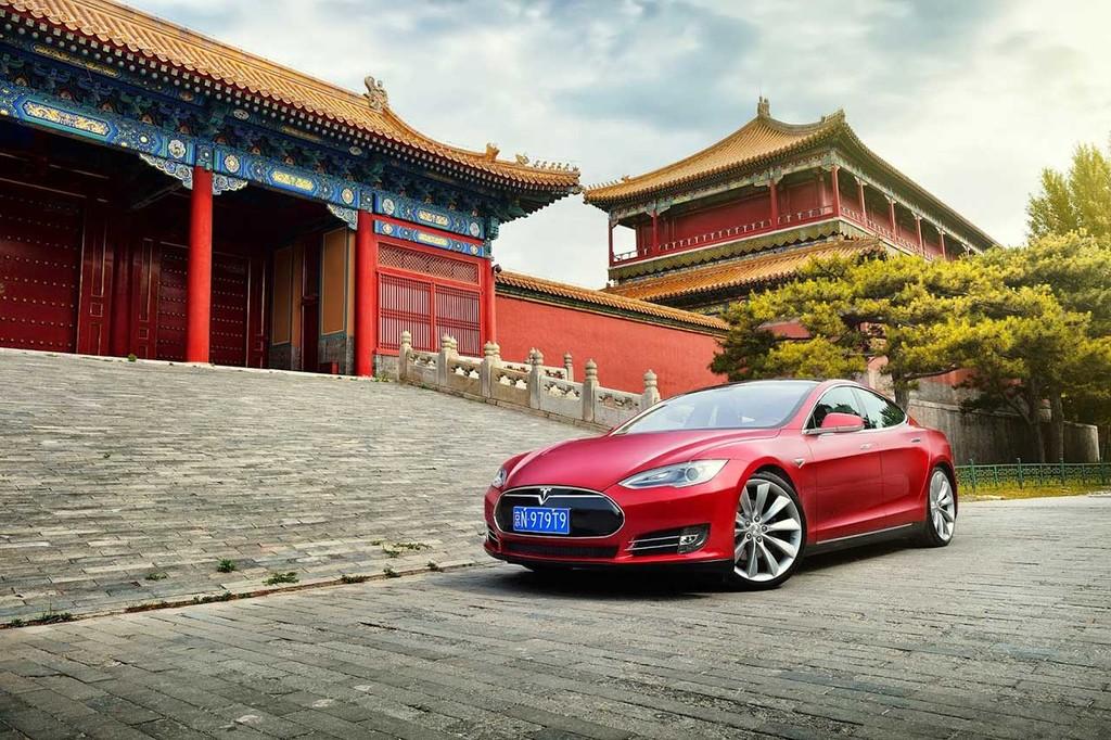 2014 Tesla Model S China