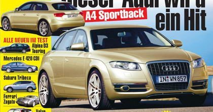 Audi A4 Sportback según Autobild