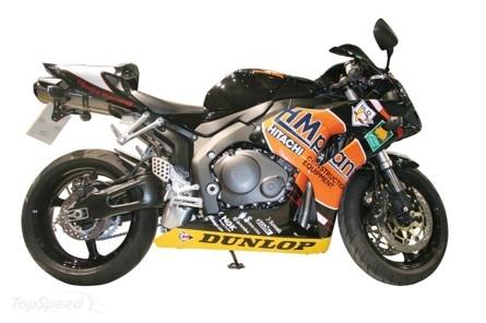 Se subasta en eBay una réplica de la Honda CBR1000RR de John McGuinness