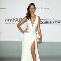 Alessandra Ambrosio amfar Cannes 2014