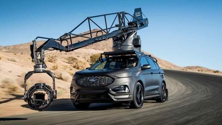 El Ford Edge ST se estrena como coche-cámara para cine y publicidad de la mano de Pursuit Systems