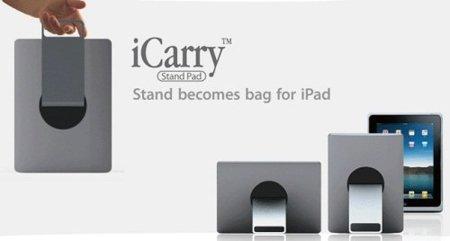 iCarry Stand Pad: soporte de iPad que se transforma en bolsa