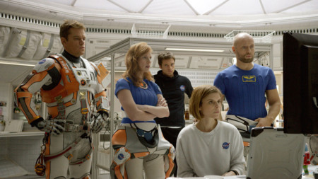 Los protagonistas de Marte (The Martian)