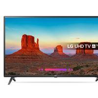Super Weekend en eBay: Smart TV de 43 pulgadas con resolución 4K LG 43UK6200 por 309,99 euros