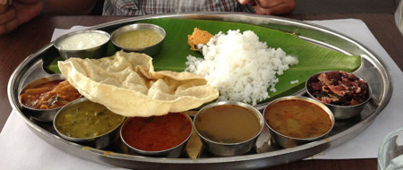 Chettiar Veg Thali