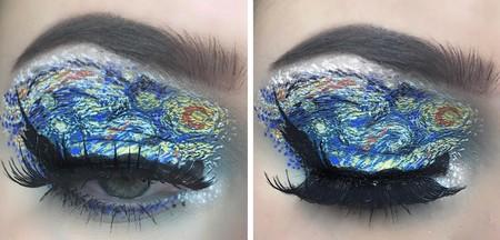 Cuando el arte se traslada a nuestros maquillajes, los resultados son impactantes