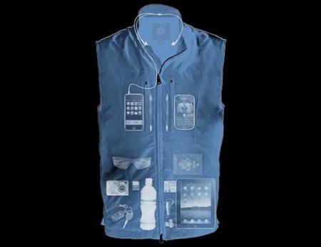 Chaleco con 22 bolsillos para gadgets y accesorios