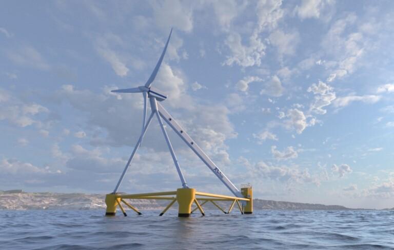 X1 Wind, el aparato eólico flotante producido en Barcelona que aprovecha las olas del mar para inventar energía