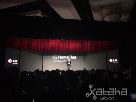 """LG HomeChat, nuestros electrodomésticos """"hablarán"""" a través de LINE"""