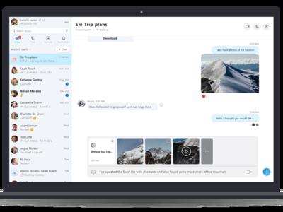 Con la última actualización ya es posible acceder a una vista previa de los archivos en Skype antes de enviarlos