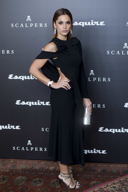 alfombra roja squire look estilismo Michelle Calvo