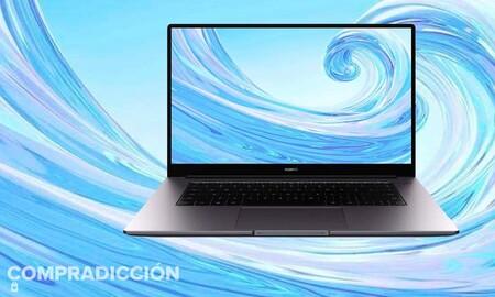 Este ligero portátil Huawei MateBook D15 de gama media con procesador i5 cuesta 250 euros menos ahora en MediaMarkt