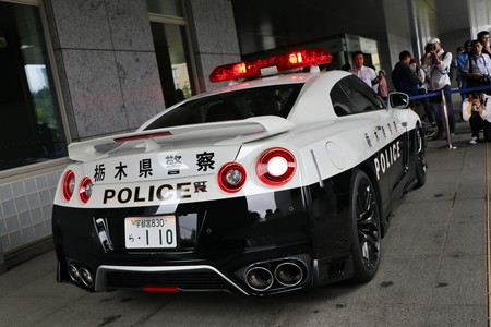 Nissan Gt R Policia Japon 8