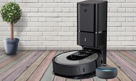Más barato que nunca: Amazon te deja el Roomba i7+ con altavoz Echo Dot por 709 euros