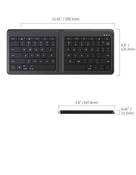 Foto de Microsoft Universal Foldable Keyboard (2/6)