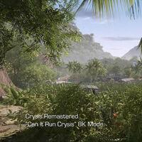 Crysis Remastered tira la casa por la ventana presentándonos la tecnología detrás de sus gráficos en un tráiler 8K